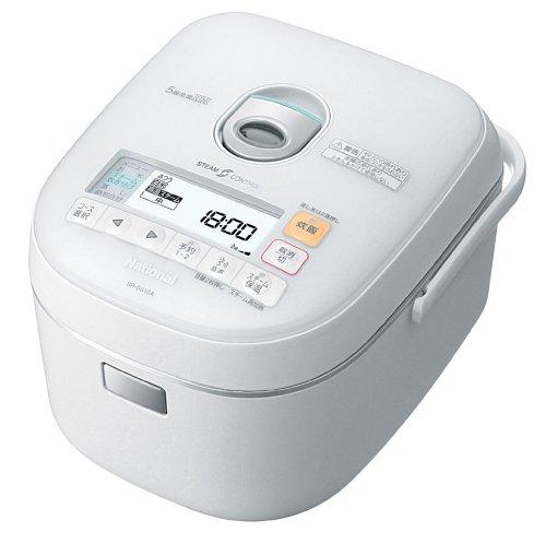 パナソニック 5.5合 炊飯器 IH式 クリスタルホワイト SR-SS10A-W
