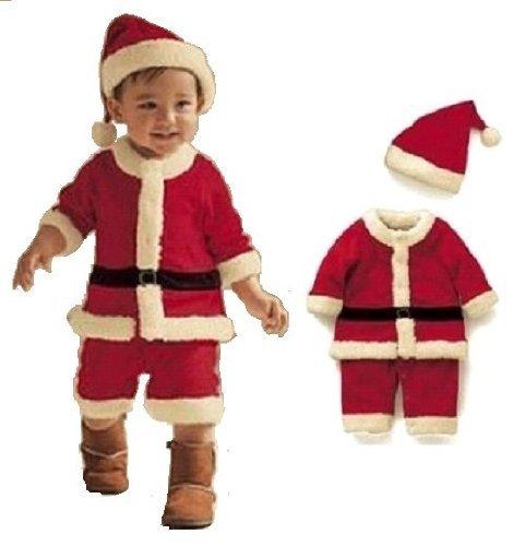 10d94007e82a6 ベビー サンタ コスプレ クリスマス 子供 衣装80cm 90cm 100cm 男の子 ...
