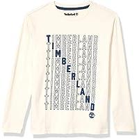 Timberland Boys Long Sleeve Jersey Graphic Tee Shirt Long Sleeve Shirt