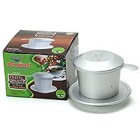 KIM HANG ベトナムコーヒーフィルター アルミ 高耐久 高品質ドリッパー 160ml CA PHE PHIN アルマイト加工 JIS1050