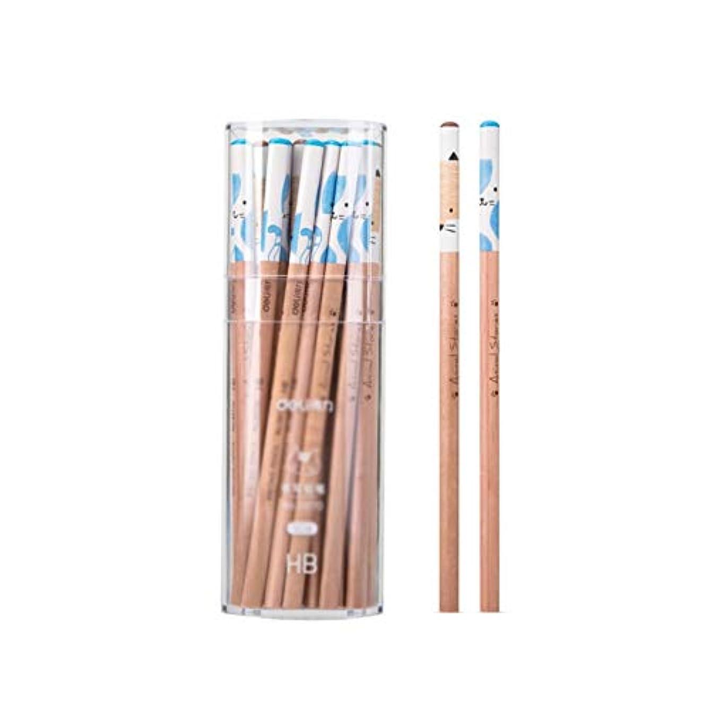 性格アライメントダッシュWuhuizhenjingxiaobu001 ペイントブラシ、50バレルの木製スケッチ描画鉛筆、トライアングルペンホルダー快適なスケッチスペシャルブラシセット(50パック、20 * 8 * 8cm) 良い着色効果 (Color : White, Size : 20*8*8cm)