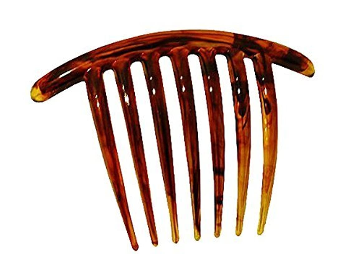 怪物装置French Twist Comb (set of 5) in Tortoise Shell [並行輸入品]
