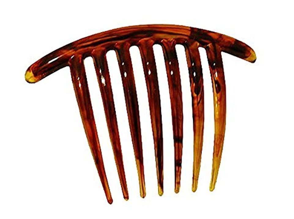 彼の粘着性舌なFrench Twist Comb (set of 5) in Tortoise Shell [並行輸入品]