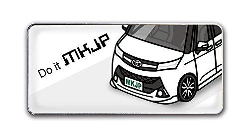 MKJP カスタムエンブレム(s) ベースホワイトトヨタ タ...