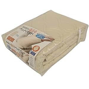 東京西川 ベッドパッド ダブル ウール 抗菌防臭加工