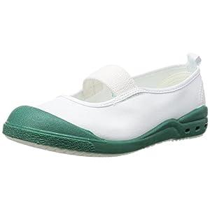 [アキレス] 上履き 日本製 ルームカラーエコロジー(布)(ハーフサイズ) NVS 2250 G (グリーン/18.5)