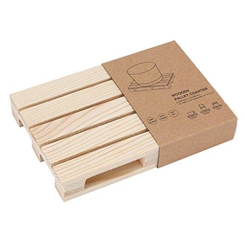 さかなのらく コースター キッチン用品 食器 木製コースター 食事 和風 木製