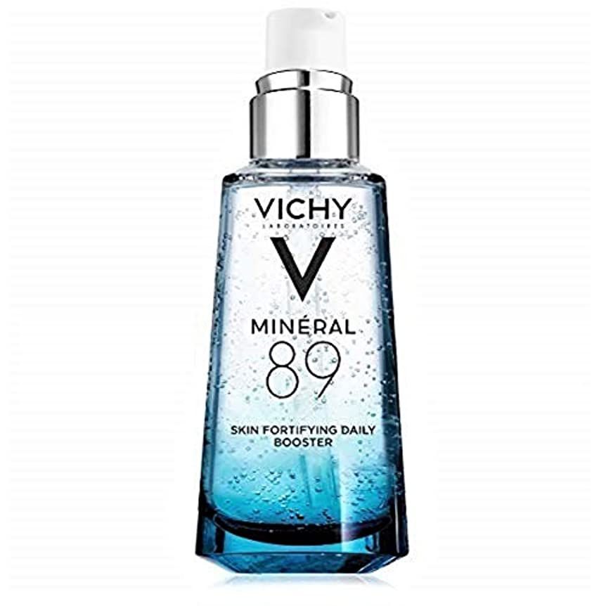 ウミウシ鳴り響く思い出させるVichy Mineral 89 Fortifying, Hydrating & Plumping Daily Skin Booster, Face Moisturizer with Hyaluronic Acid, 1.67...