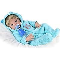 22インチエミュレーション、リバイス、人形、赤ちゃん、柔らかい男の子、誕生日プレゼント、リボーンボディシリコーンビニールドールフル生きた赤ちゃんのおもちゃ幼児、特別、赤ちゃん、小道具