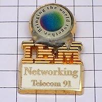限定 レア ピンバッジ IBMアイビーエム社 ピンズ フランス