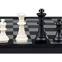 Smart Tactics 3 in 1 Travel Magnetic Chess, Checkers, Backgammon- 9.75'