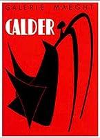ポスター アレクサンダー カルダー Stabile Noir 額装品 アルミ製ベーシックフレーム(ホワイト)