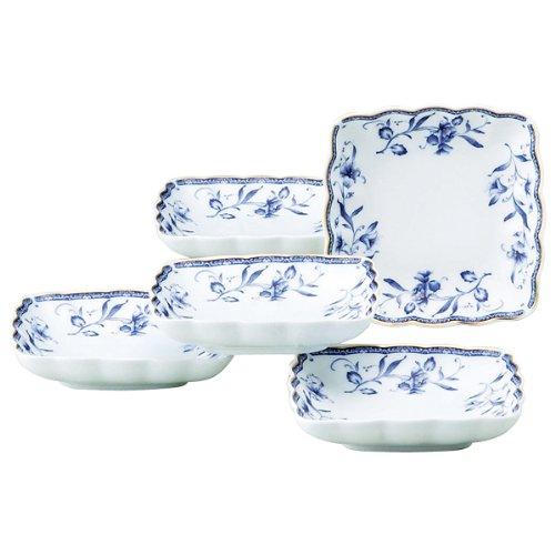 NARUMI(ナルミ) ペレーネブルー 取り皿 12cm 5枚入 40721-32718