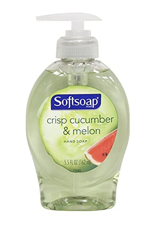 型グッゲンハイム美術館放映Softsoap Crisp Cucumber & Melon Hand Soap, 160ml