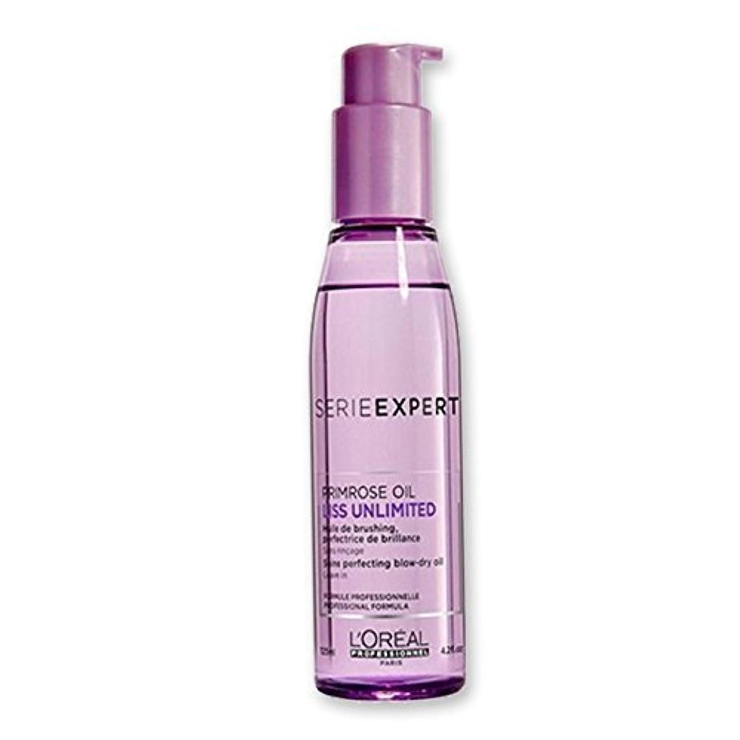 役割カウントキャプションL'Oreal Professionnel Serie Expert Liss Unlimited Evening Primrose Oil Serum, 125ml