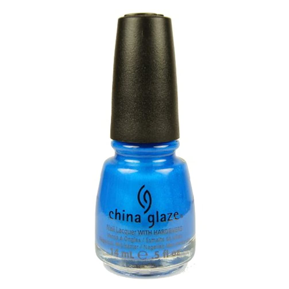 ゴミ洪水ワードローブCHINA GLAZE Summer Neon Polish - Splish Splash (並行輸入品)