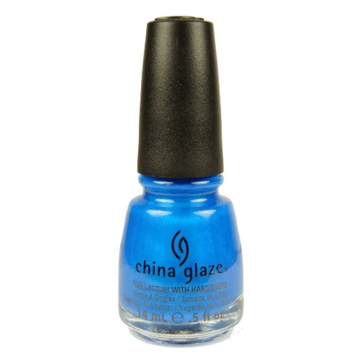 散文直径床CHINA GLAZE Summer Neon Polish - Splish Splash (並行輸入品)