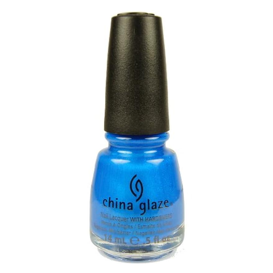 達成するコンバーチブル事CHINA GLAZE Summer Neon Polish - Splish Splash (並行輸入品)