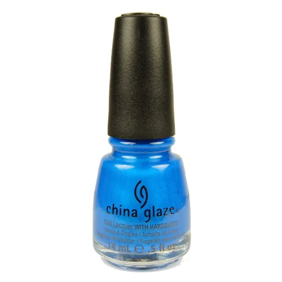 死傷者話まで(3 Pack) CHINA GLAZE Summer Neon Polish - Splish Splash (並行輸入品)