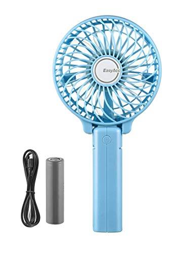 EasyAcc 携帯扇風機 USBミニ扇風機 LG2600mAh バッテリー電
