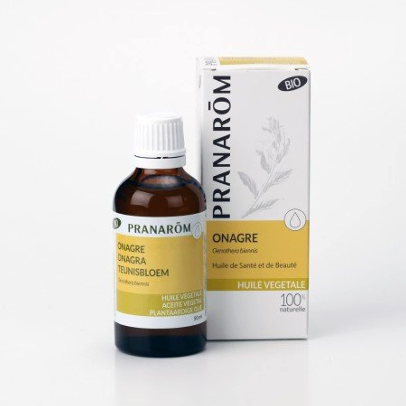 受賞操作可能見せますプラナロム ( PRANAROM ) 植物油 イブニングプリムローズ油 50ml 12530 イブニングプリムローズオイル キャリアオイル ( 化粧油 )