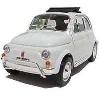 Bburago 1/18 フィアット500 L(1968) ホワイト [並行輸入品]