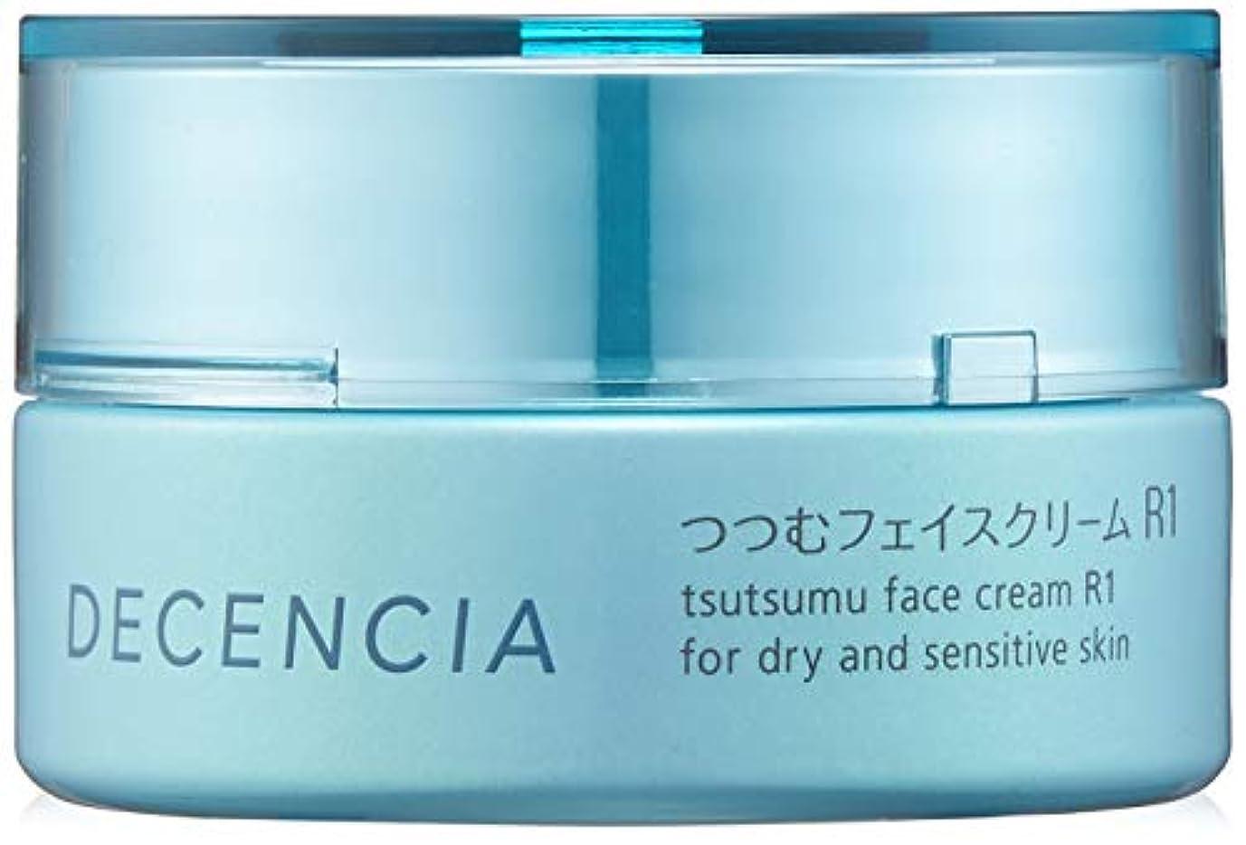 まつげ承認オレンジDECENCIA(ディセンシア) 【乾燥?敏感肌用クリーム】つつむ フェイスクリーム R1 30g