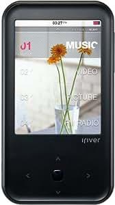 iriver 【SRS CS Headphone機能搭載】 ハイクラス動画対応プレーヤーS100 Panorama 8GB ブラック S100-8GB-BLK