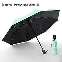 傘全自動折りたたみ傘雨女性ギフト男性ミニポケットパラソルガールズアンチUV防水ポータブル旅行傘