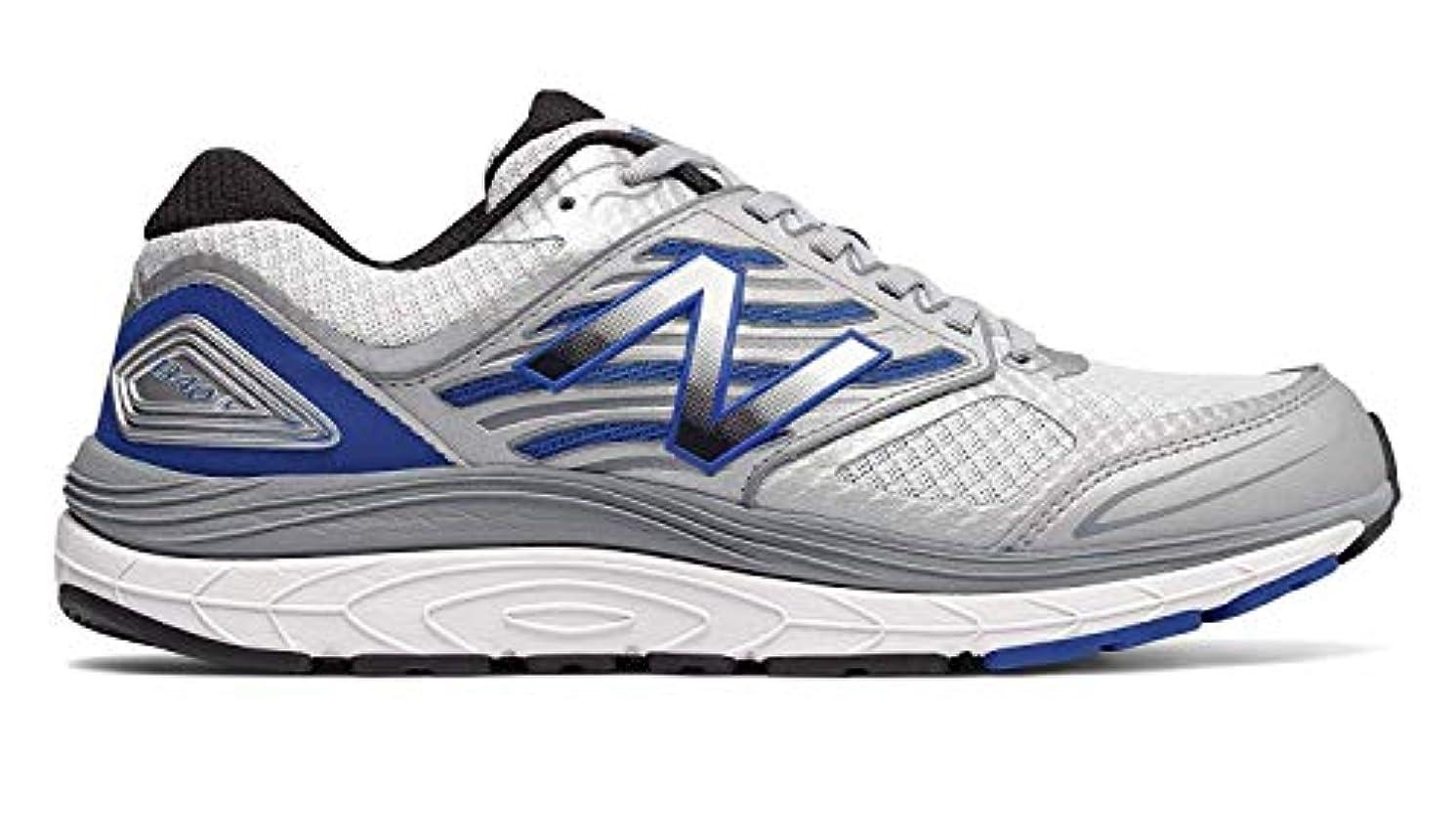 礼拝食堂黒くする[ニューバランス] メンズ 男性用 シューズ 靴 スニーカー 運動靴 1340v3 - White/Blue [並行輸入品]