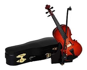 SUNRISE SOUND HOUSE サンライズサウンドハウス ミニチュア楽器 バイオリン 15cm