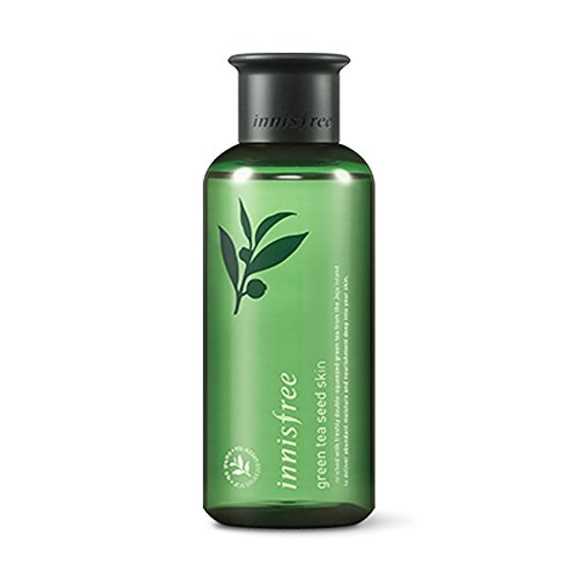 イニスフリーグリーンティーシードスキン(トナー)200ml「2018新製品」 Innisfree Green Tea Seed Skin(Toner) 200ml