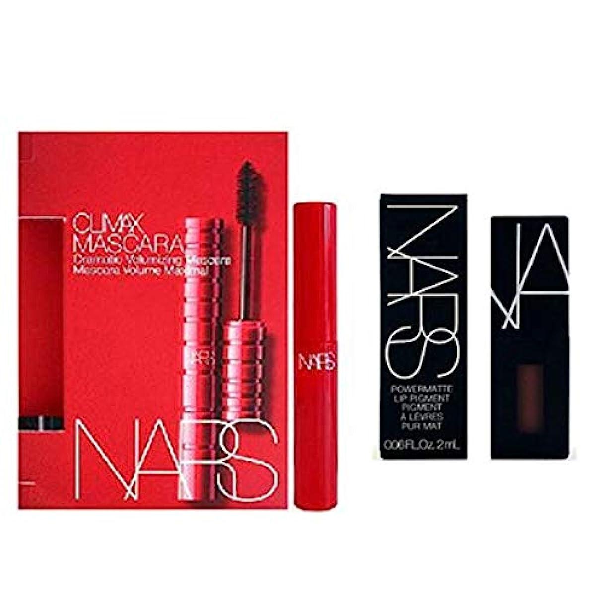 マニア役に立つNARS(ナーズ) Mini 2set - Mascara(Explict Black) + Lip Pigment(American Woman) [海外直送品] [並行輸入品]