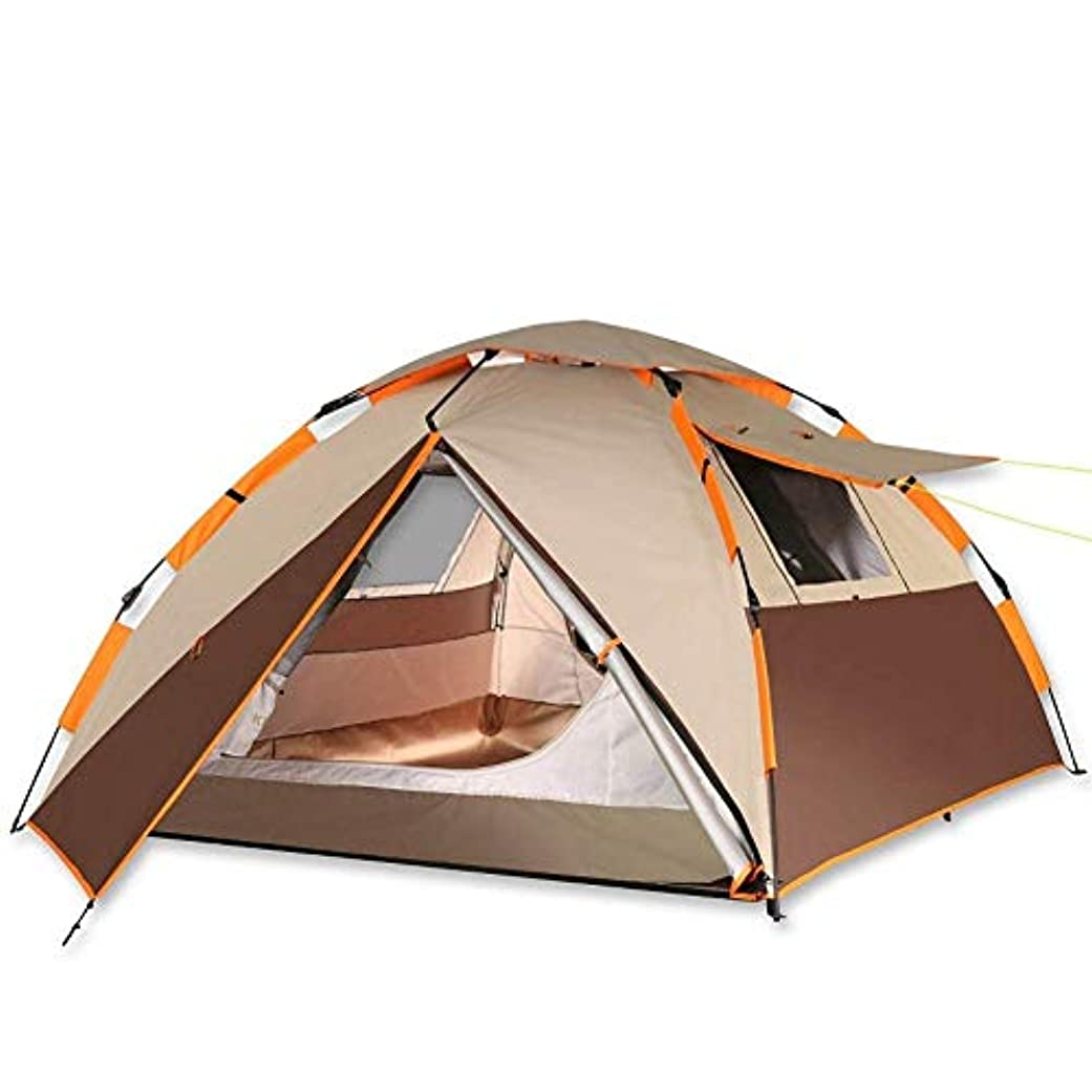 聖人変成器聖域アウトドアスポーツ用テント、キャンプテント自動テント防水抗蚊二重層キャリーバッグビーチ野生旅行家族キャンプテント