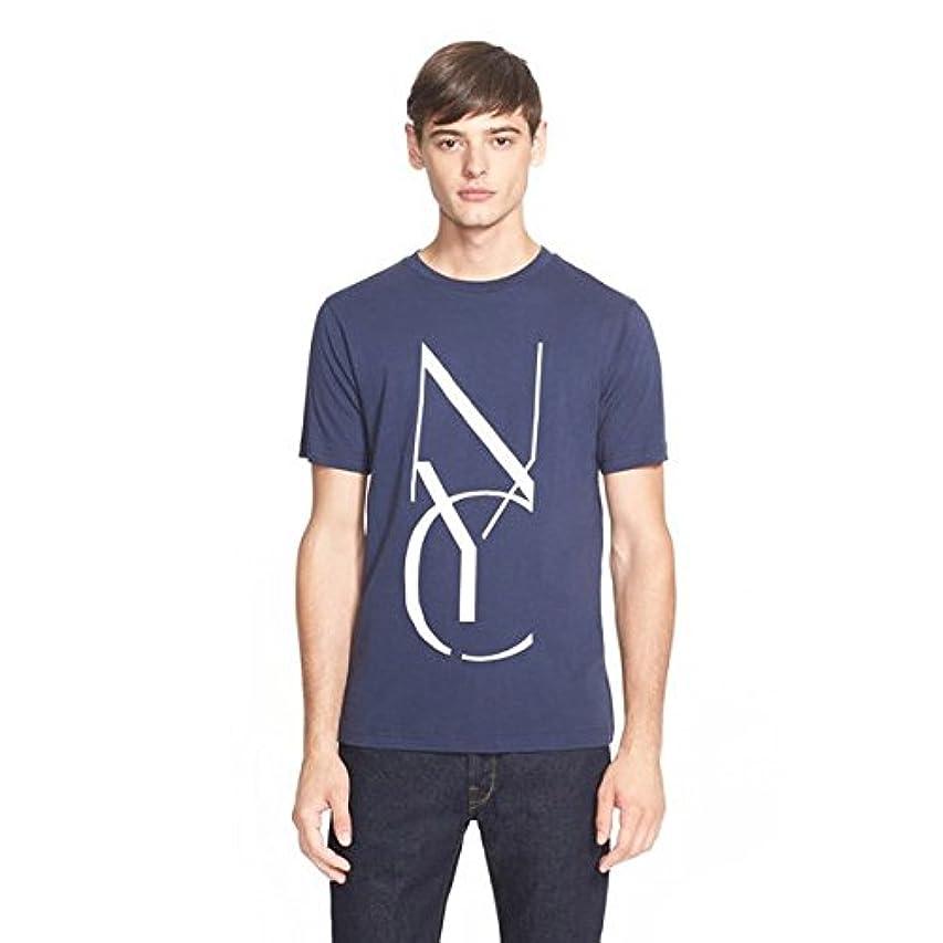 ペースト罪安定しました(サタデーズサーフ ニューヨーク) Saturdays Surf NYC Tシャツ Stencil Printed コットン メンズ [並行輸入品]