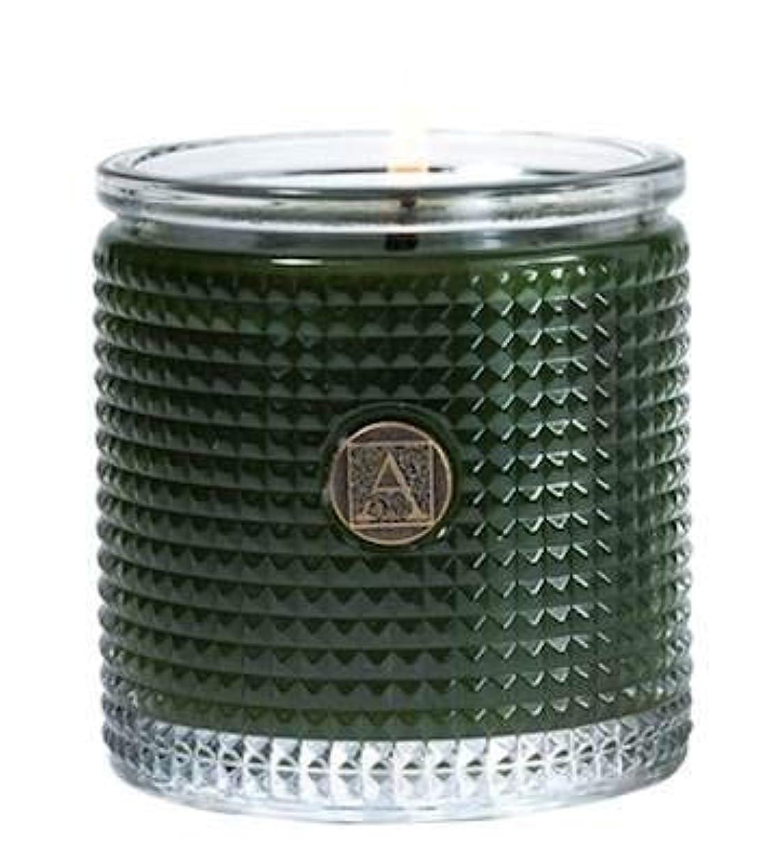 遵守する剛性ファンSmell of theツリーTextured Glass Candle、5.5 Oz by Aromatique