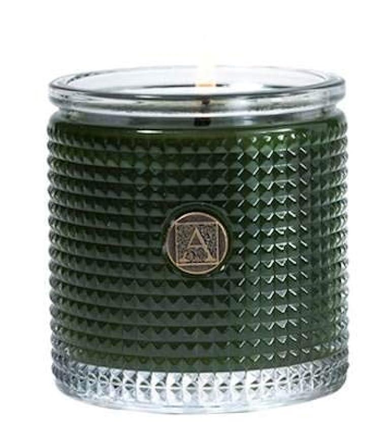 志す雪自治Smell of theツリーTextured Glass Candle、5.5 Oz by Aromatique