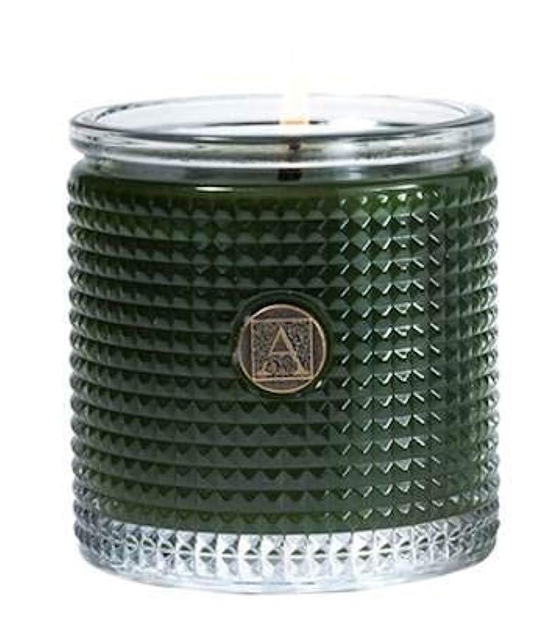 凍った鎮痛剤天気Smell of theツリーTextured Glass Candle、5.5 Oz by Aromatique