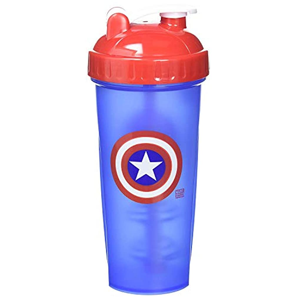 優しさ許す保存するPerfectShaker Hero Series Captain America Shaker Cup (800ml) by Perfect Impressions