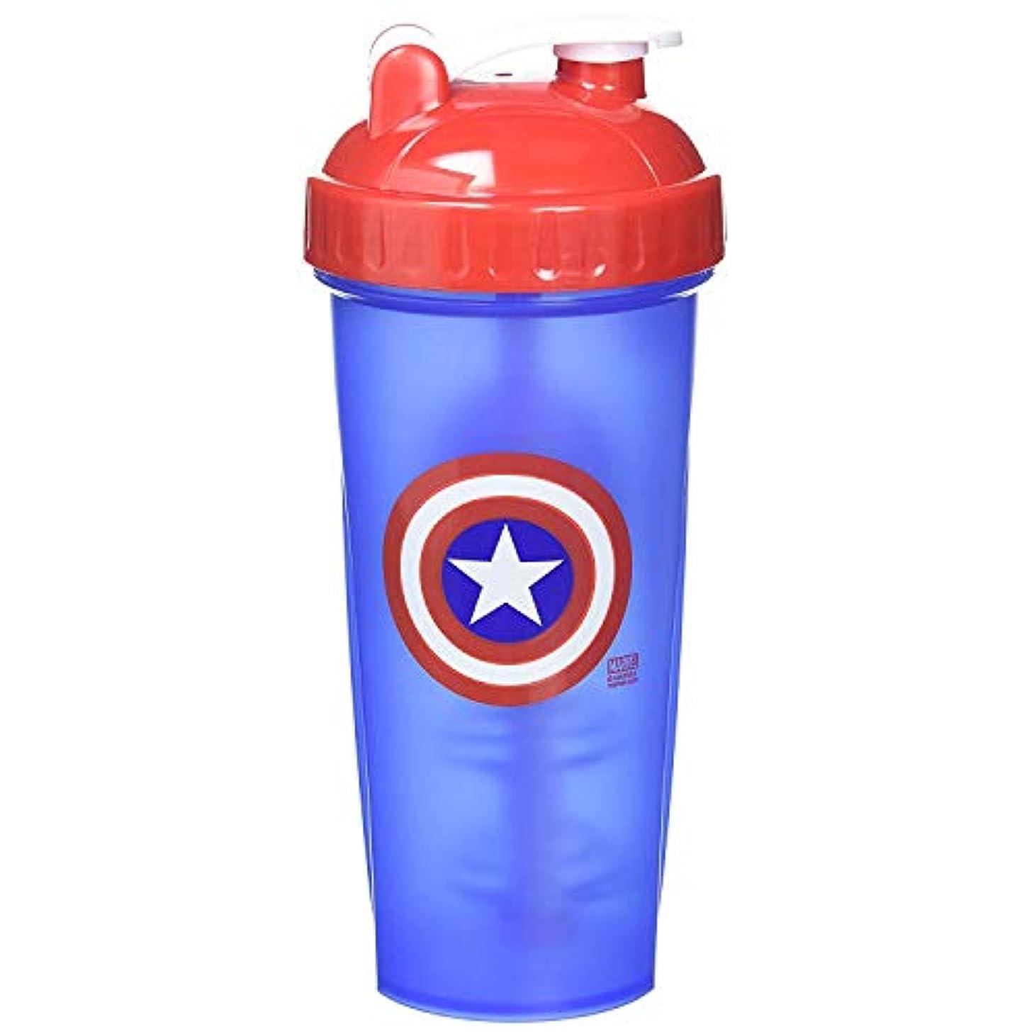 相互接続蓮言い直すPerfectShaker Hero Series Captain America Shaker Cup (800ml) by Perfect Impressions