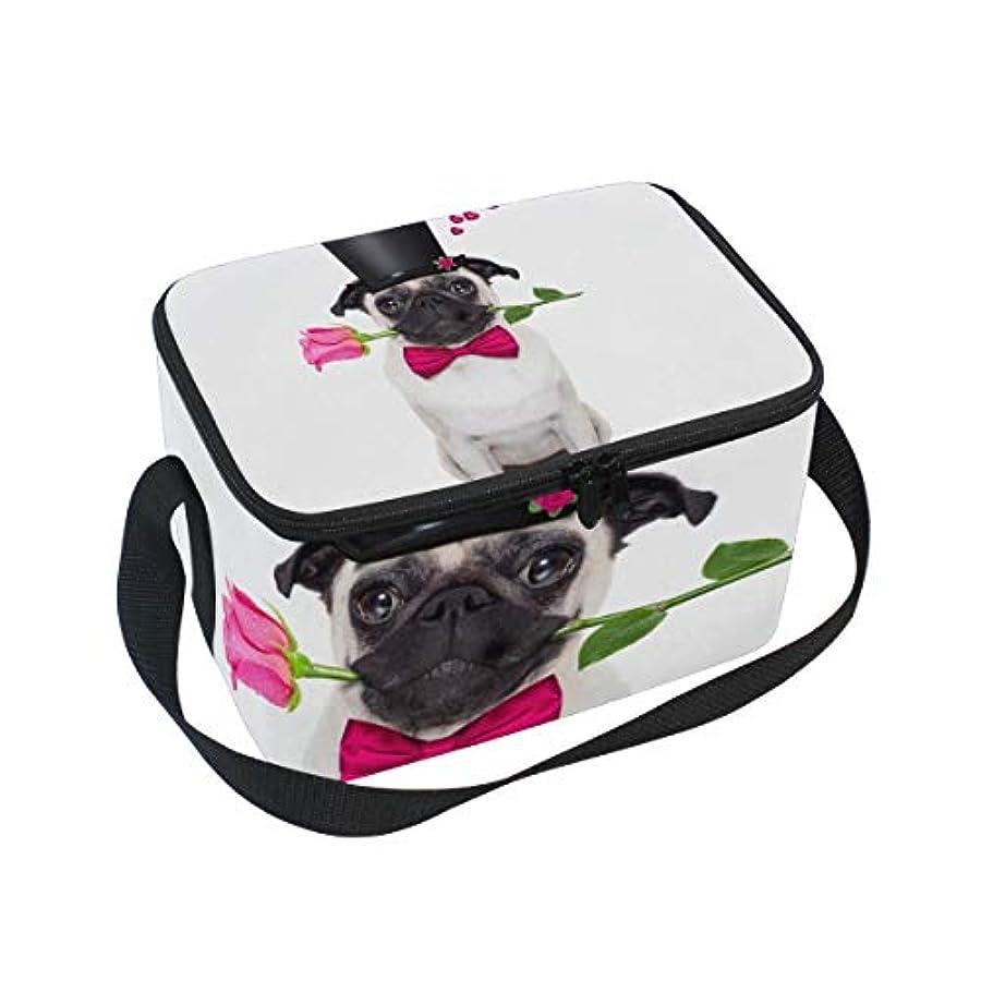 シエスタビュッフェページクーラーバッグ クーラーボックス ソフトクーラ 冷蔵ボックス キャンプ用品 バレンタインデー 犬と花柄 保冷保温 大容量 肩掛け お花見 アウトドア