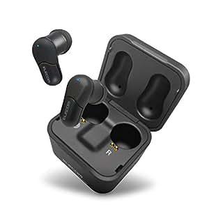エレコム Bluetooth ブルートゥース 完全ワイヤレス イヤホン 6.0mmドライバー オートペアリング [充電ケースを使用し、最大6時間の音楽再生が可能] 4g軽量設計 ブラック LBT-TWS02BK