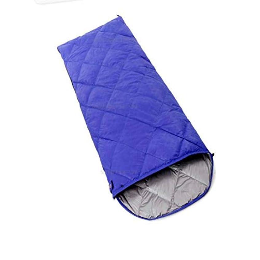 論争的有効歴史家KingsleyW 封筒型 軽量 持ちやすい ポータブル 大人用寝袋 夏、春、秋に対応 (色 : 青, サイズ : 600g)