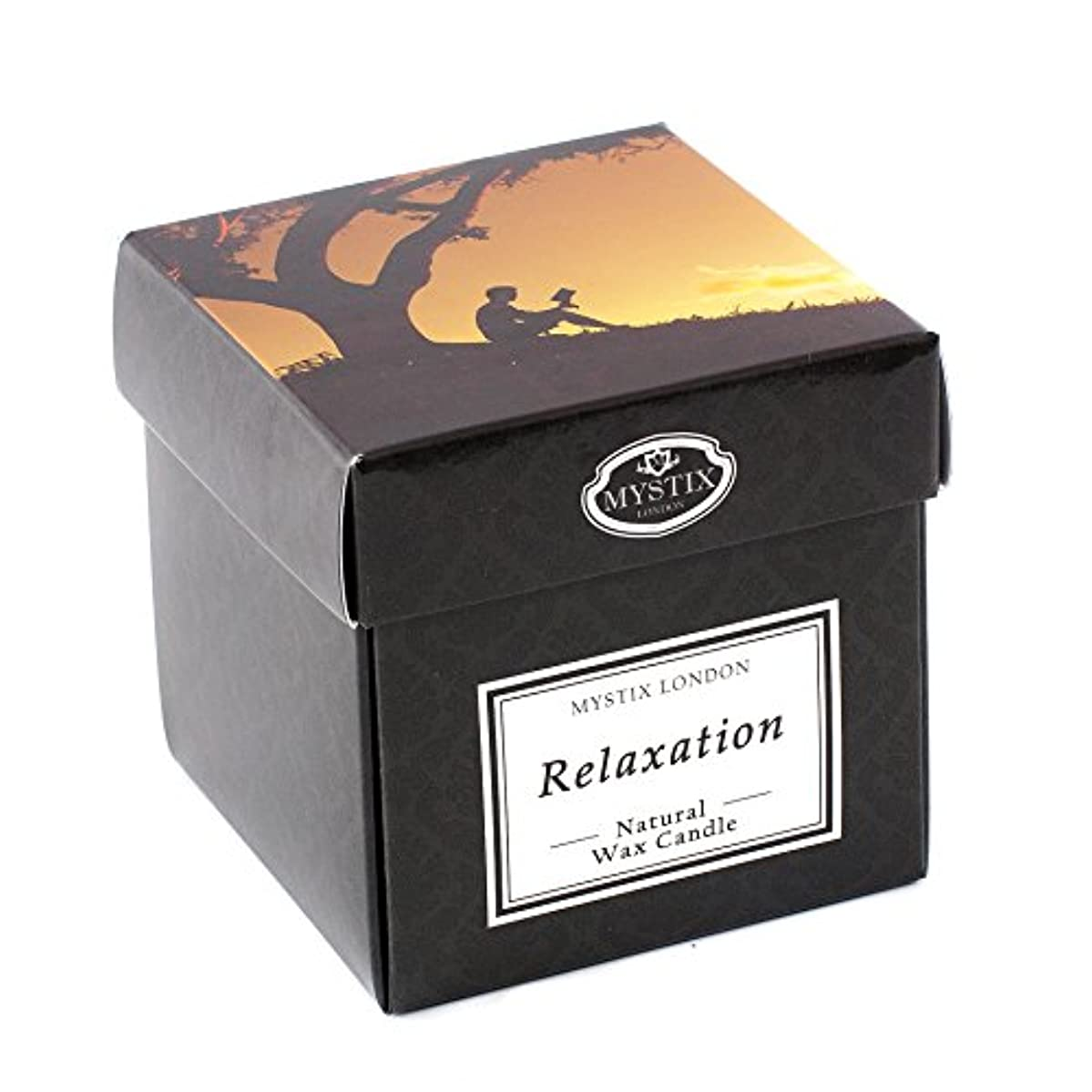 豚質量スパンMystix London   Relaxation Scented Candle - Large