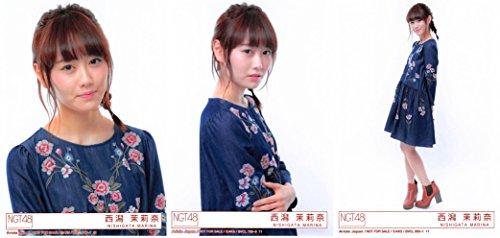 【西潟茉莉奈】 公式生写真 NGT48 青春時計 封入特典 ...