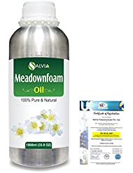 Meadowfoam Seed (Limnanthes alba)100% Natural Pure Carrier Oil 1000ml/33.8fl.oz.
