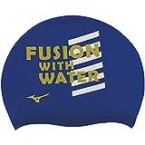 ミズノ(MIZUNO) スイムキャップ 水泳帽 ユニセックス シリコーンキャップ 19年春夏モデル N2JW904125 サイズ: サーフブルー N2JW9041 25:サーフブルー