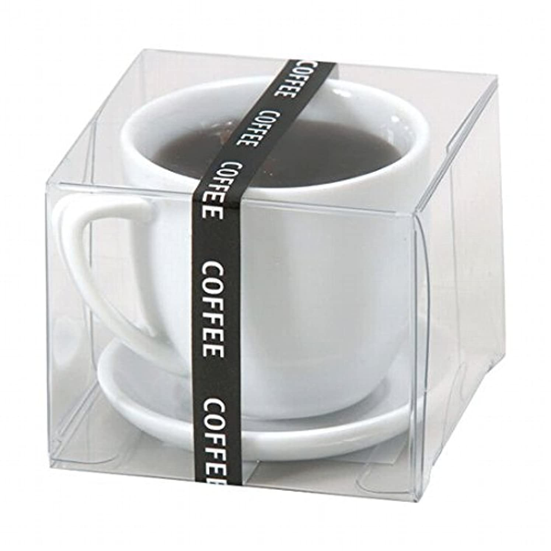 スキニープラスチック忠実にカメヤマキャンドル(kameyama candle) ホットコーヒー キャンドル
