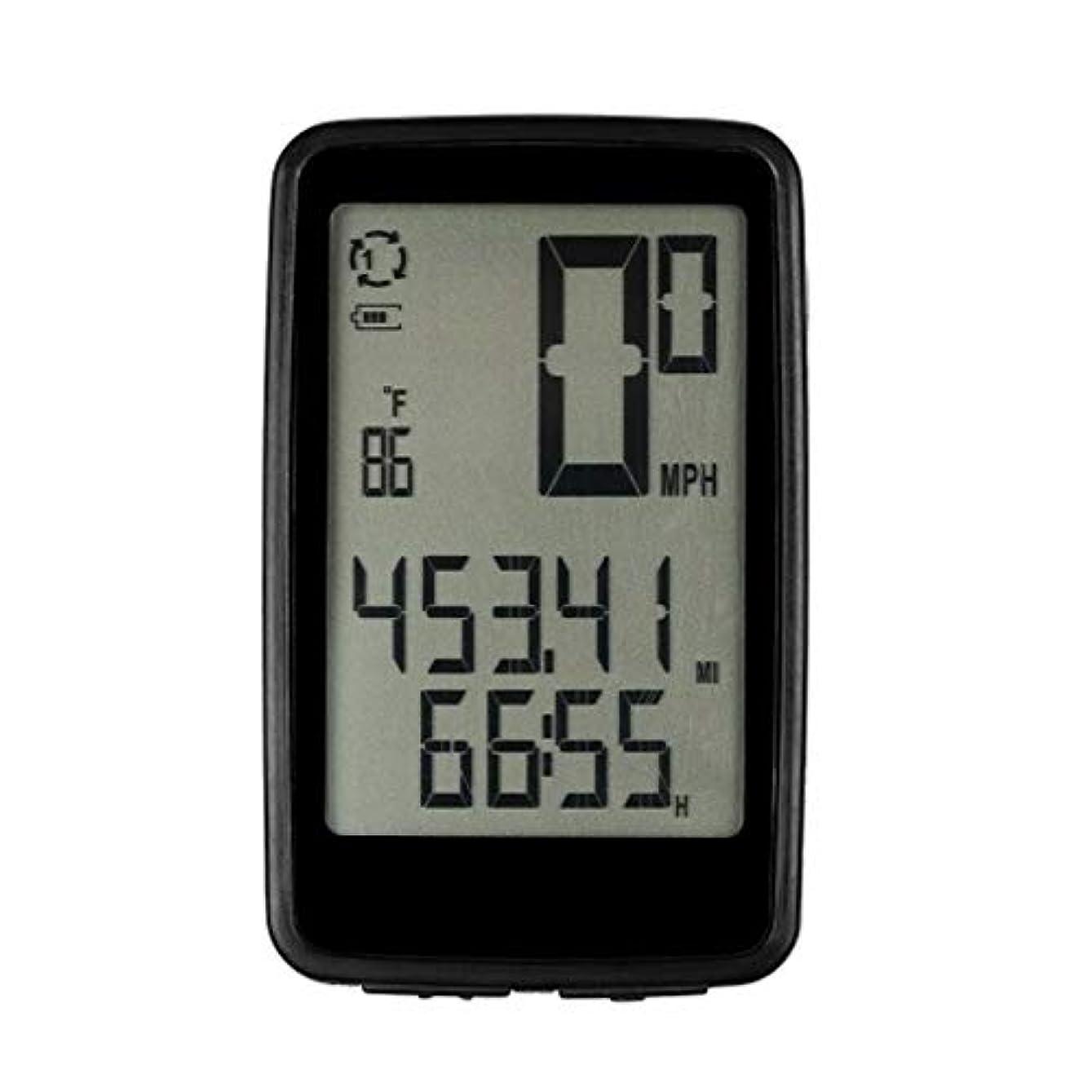 雑種ロータリーどれか自転車コンピューター ワイヤレス自転車コンピュータのUSB充電式でケイデンスセンサー自転車スピードメーター走行距離 軽量で実用的で用途が広い (色 : Black1, Size : One size)