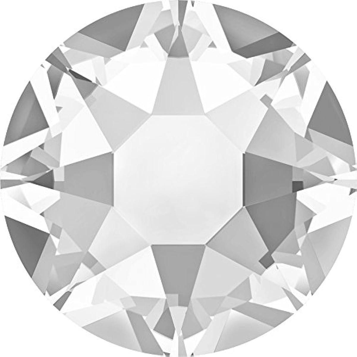 自然分泌する発掘するスワロフスキー(Swarovski) クリスタライズ ラインストーン 【ホットフィックス】布用スワロ (SS12(約3mm)40粒入, クリスタル)